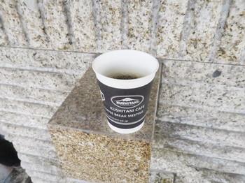 クシタニのミーティングでふるまわれたコーヒー