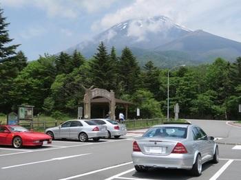 水ヶ塚パーキングから見る富士山