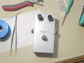 完成した自作OD-1