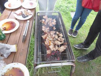 K社長の焼く鶏肉