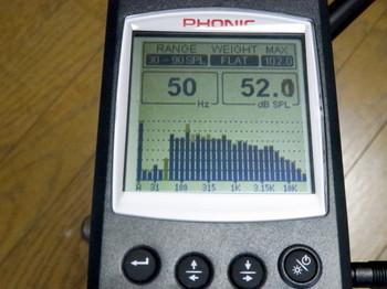 PHONIC PAA3で軽く測定中