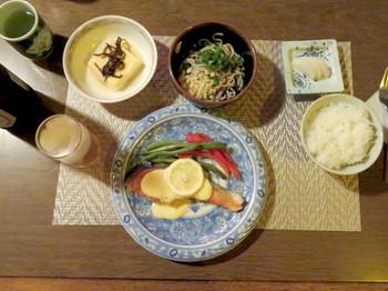 メイン一つ目のお魚料理
