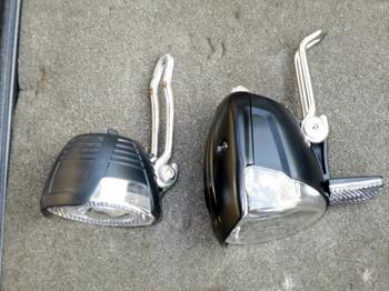 新旧のLEDヘッドライト