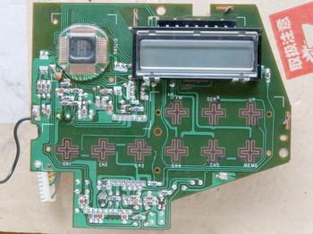 液晶表示の基板のプリントパターン面