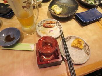 懇親会で飲む日本酒
